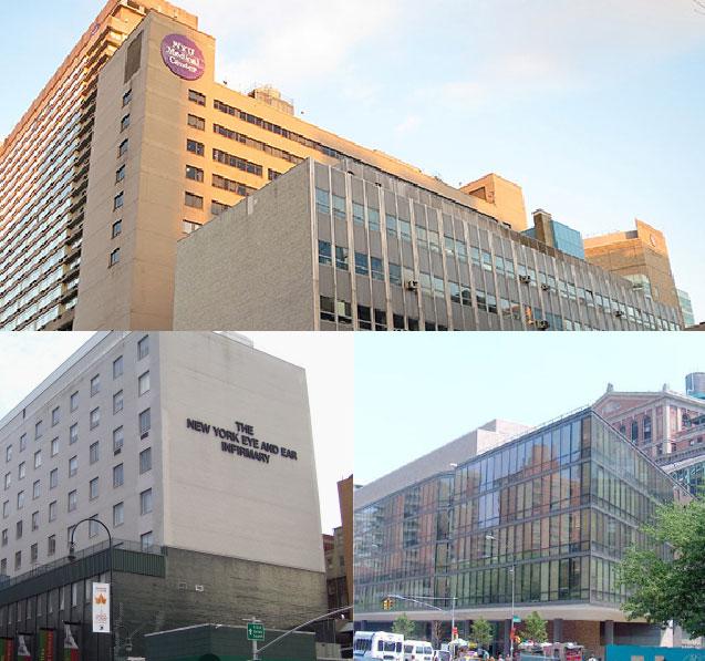 Dr. Alexander Aizman's Hospital Affiliations